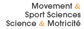 Movement & Sport Sciences - Science & Motricité